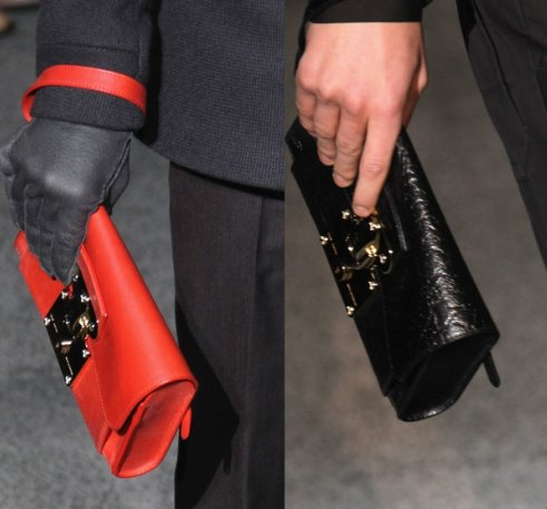 Louis Vuitton men's clutches for Fall 2011
