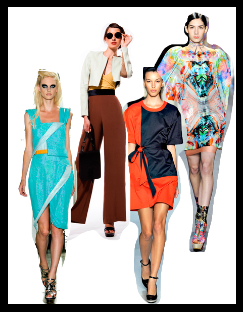 Spring 2012 Trends as seen at NYFW