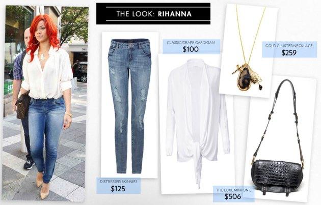 Rihanna Celebrity Style on apartstyle