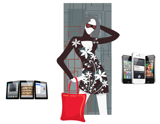 top 5 fashion iphone and ipad apps for 2011