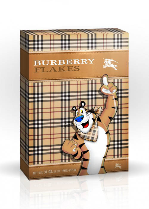 Burberry Frosted Flakes Cereal by The Glam Foodie