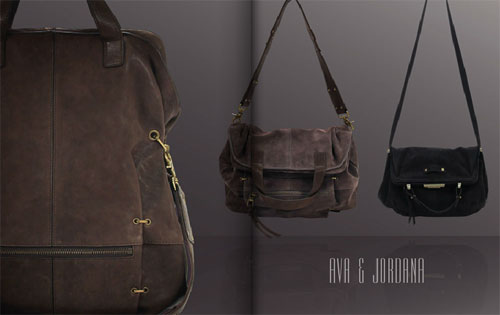 The Ava and Jordana handbags from the Kooba Fall 2011 collection