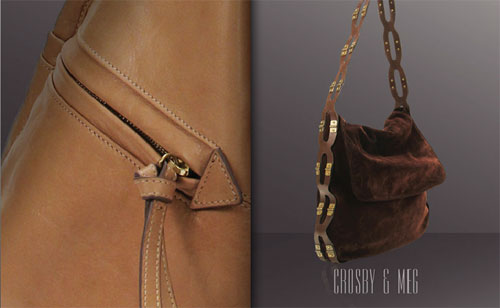 The Crosby and Meg handbags from the Kooba Fall 2011 collection