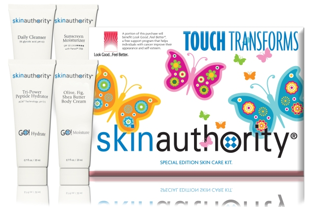 Skin Authority Touch Transform Facial Kit for Breast Cancer Awareness