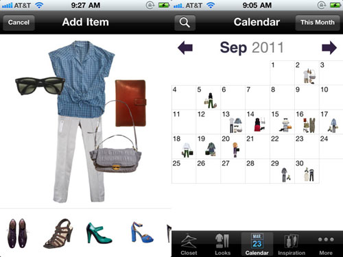 stylebook fashion app for ipod and ipad