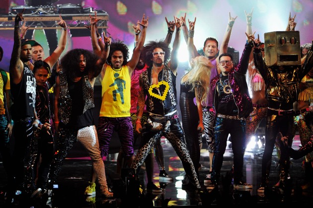 LMFAO at the MTV Europe Music Awards 2011 - Show