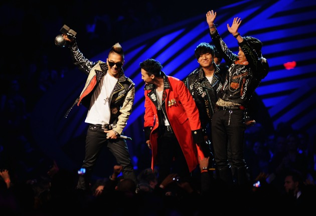 Big Bang at the MTV Europe Music Awards 2011 - Show
