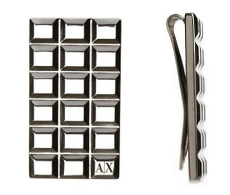 Armani Exchange Money Clip for holiday gift guide under $50 for men