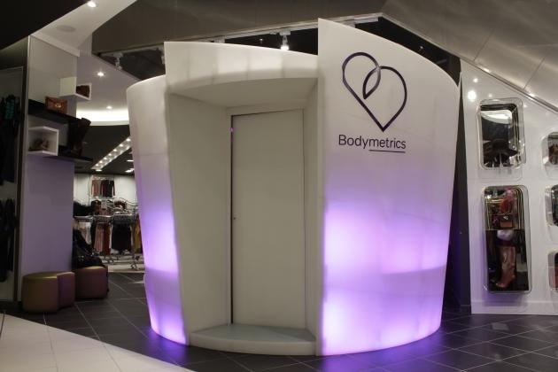 3-D body scanner by Bodymetrics