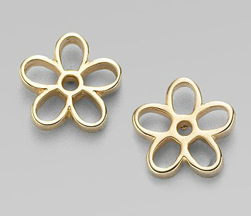 Marc by Marc Jacobs Daisy Cutout Stud Earrings