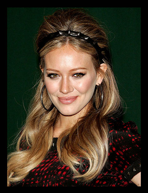 DIY celebrity beauty hair styles with Hillary Duff