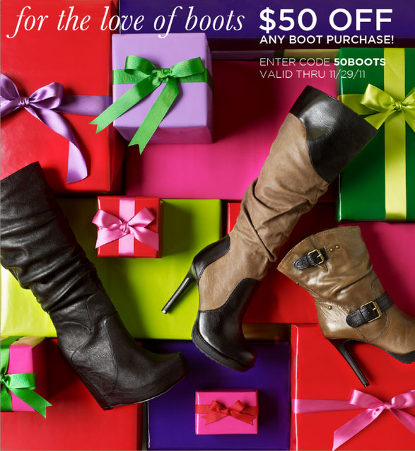Jessica Simpson Collection Holiday Boot Sale