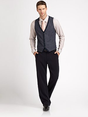 armani collezioni jersey vest holiday looks for men on shop my label