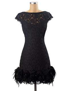 black SHORT SLEEVE LACE DRESS jessica simpson holiday dress