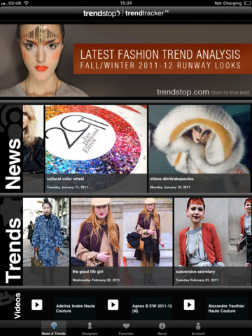 Fashion Trendtracker by Trendstop.com for iPad app