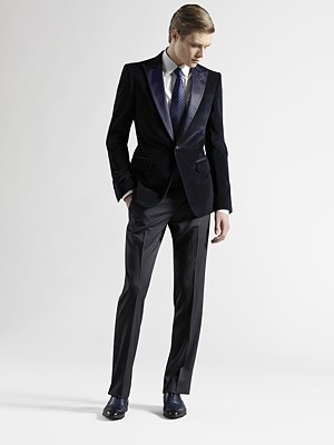 Gucci evening jacket holiday looks for men on shop my label