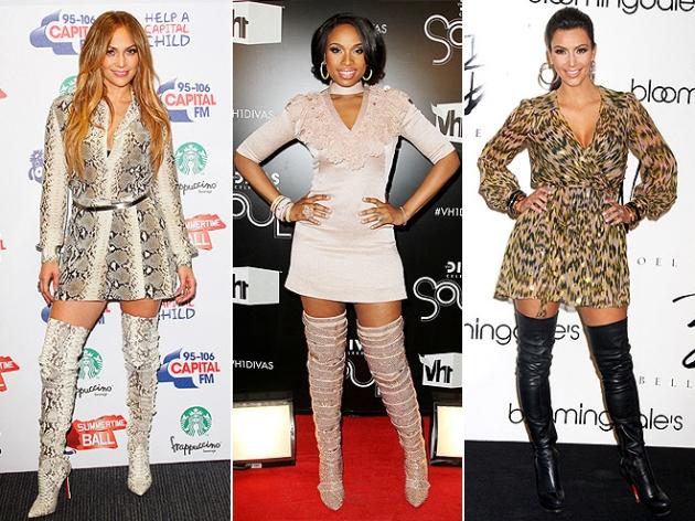 Jennifer Lopez, Jennifer Hudson, Kim Kardashian