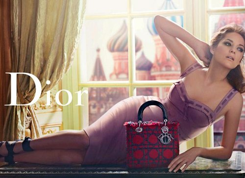 Marion Cotillard for Lady Dior Ad Campaign