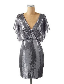 Mesh sequin holiday dress by jessica simpson