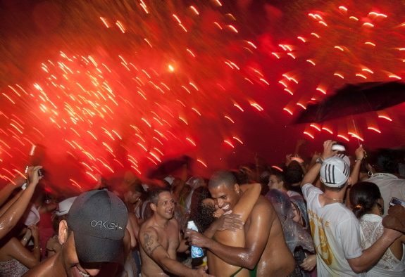 2012 New Year's Celebration in Brazil
