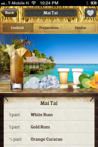 Cocktail Flow drinking ipod iphone ipad app