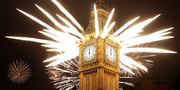 2012 New Year's Celebration in London