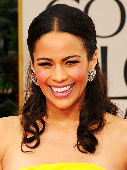 Paula Patton at the 2012 Golden Globe Awards