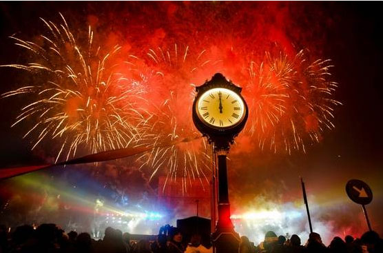 2012 New Year's Celebration in Romania